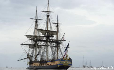L'Hermione, majestueux navire que les enfants adoreront visiter !
