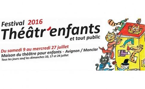 Affiche Festival théâtr'enfants