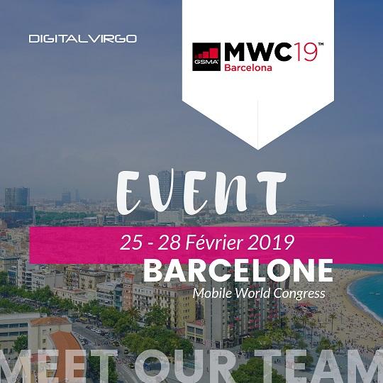 Digital Virgo présent au MWC de Barcelone en 2019