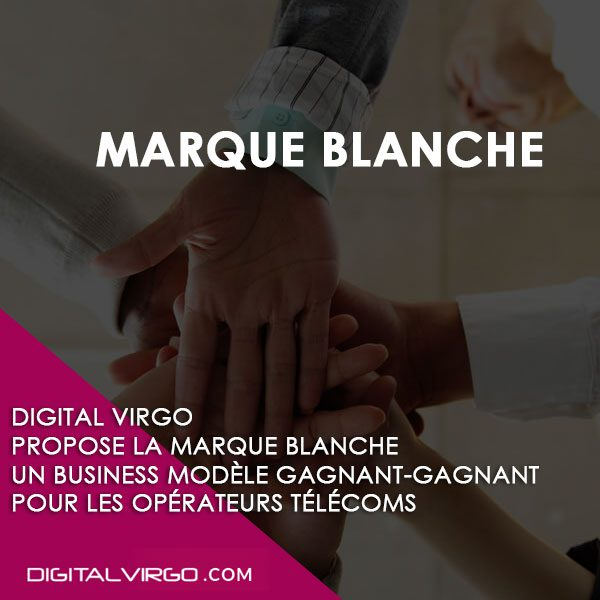 Marque blanche Digital Virgo adaptee a vos couleurs