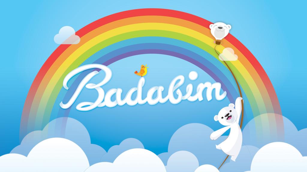 fond d'écran ours blanc badabim l'application iPad pour enfants 2015 avec des contes, coloriages, jeux et vidéos