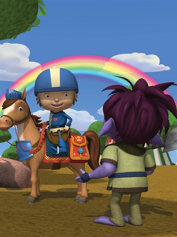 Mike le chevalier fait partie des héros Badabim !