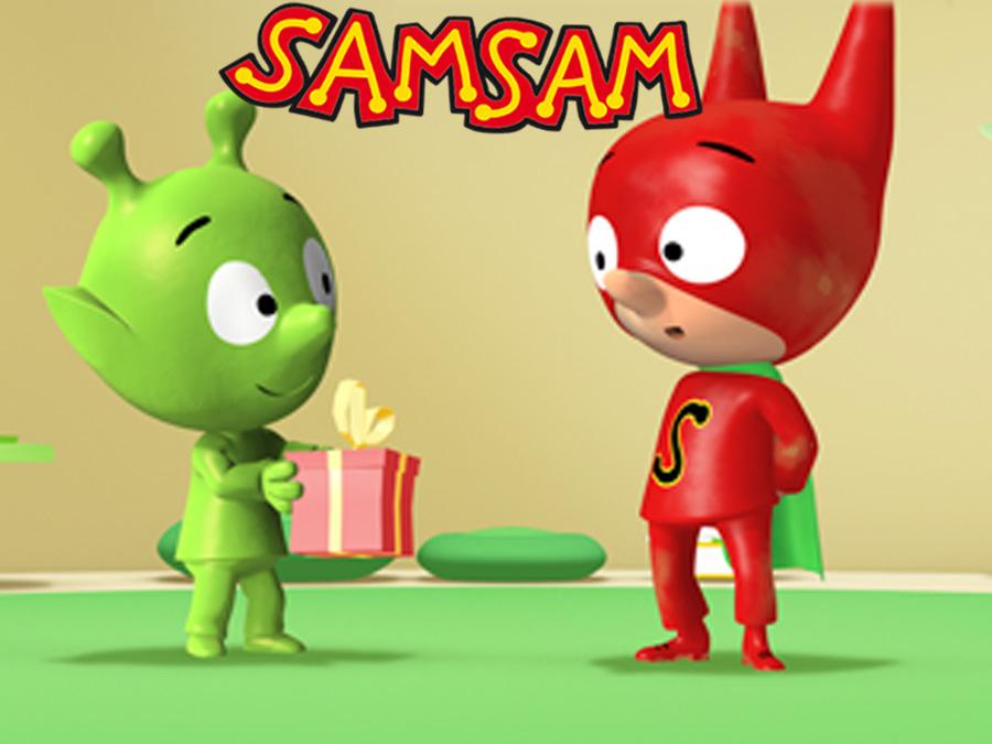 Samsam fait partie des héros Badabim !