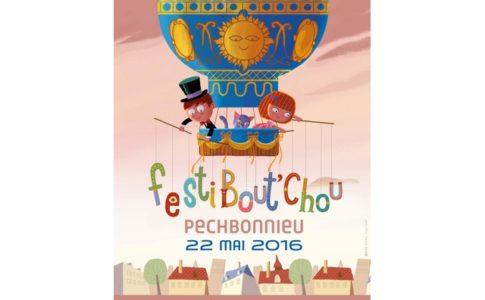 L'affiche du festival « Festi Bout'Chou » © festiboutchou.fr