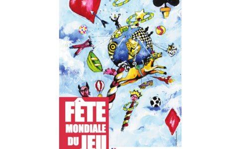 L'affiche de la Fête du jeu © Association des ludothèques françaises