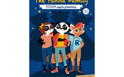 Le deuxième tome de la collection de livractivités « The Panda Family » ©