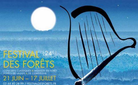 L'affiche de l'évènement © festivaldesforets.fr
