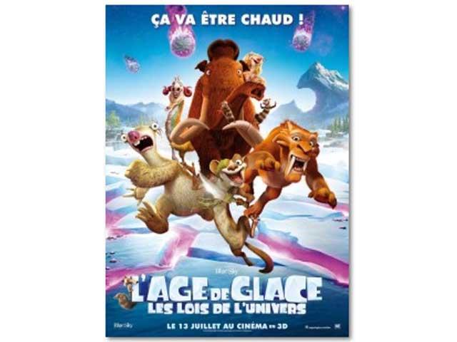 Affiche age de glace 4