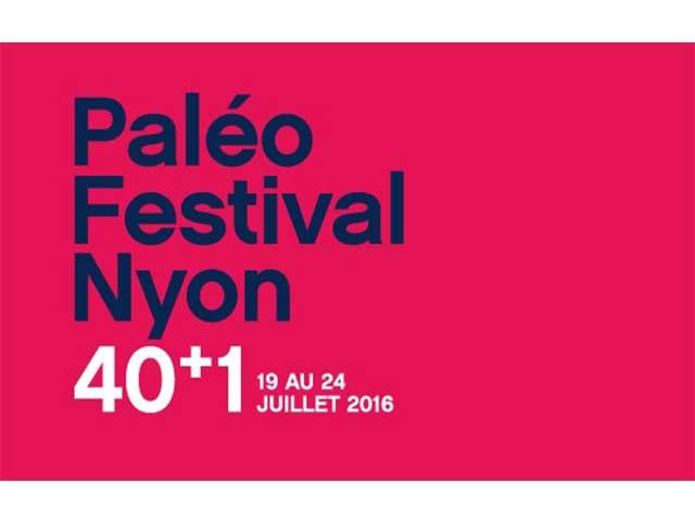 Affiche festival paléo Nyon