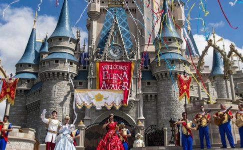 La princesse Elena au parc d'Orlando (Floride) © PR News Foto/Walt Disney World/Matt Stroshane