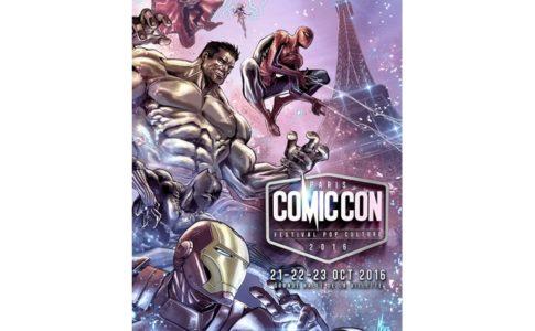 Le Comic Con Paris 2016 aura lieu en octobre © All Rights Reserved