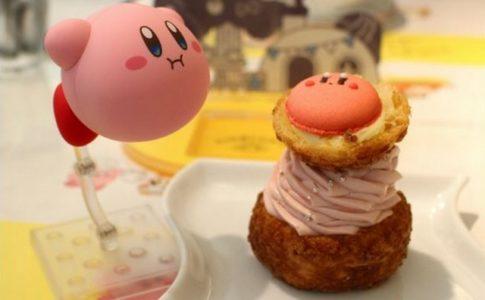Le « Kirby Café » de Nintendo propose plusieurs desserts inspirés de jeux vidéo © Twitter