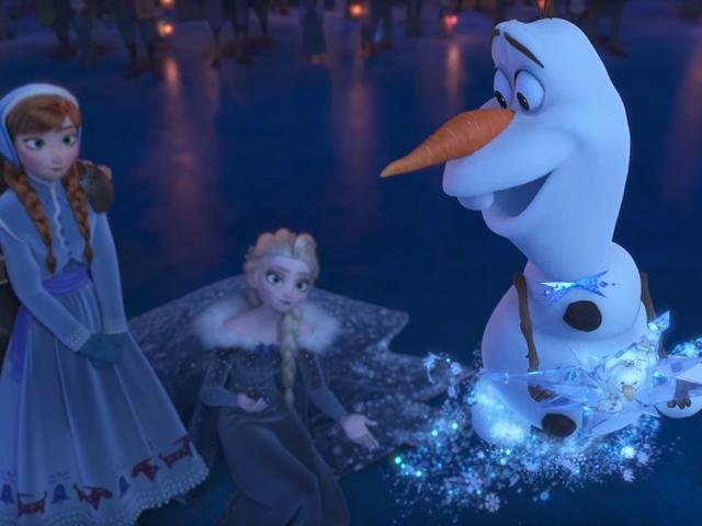 Olaf reine des neiges badabim - Reine des neige 2 ...